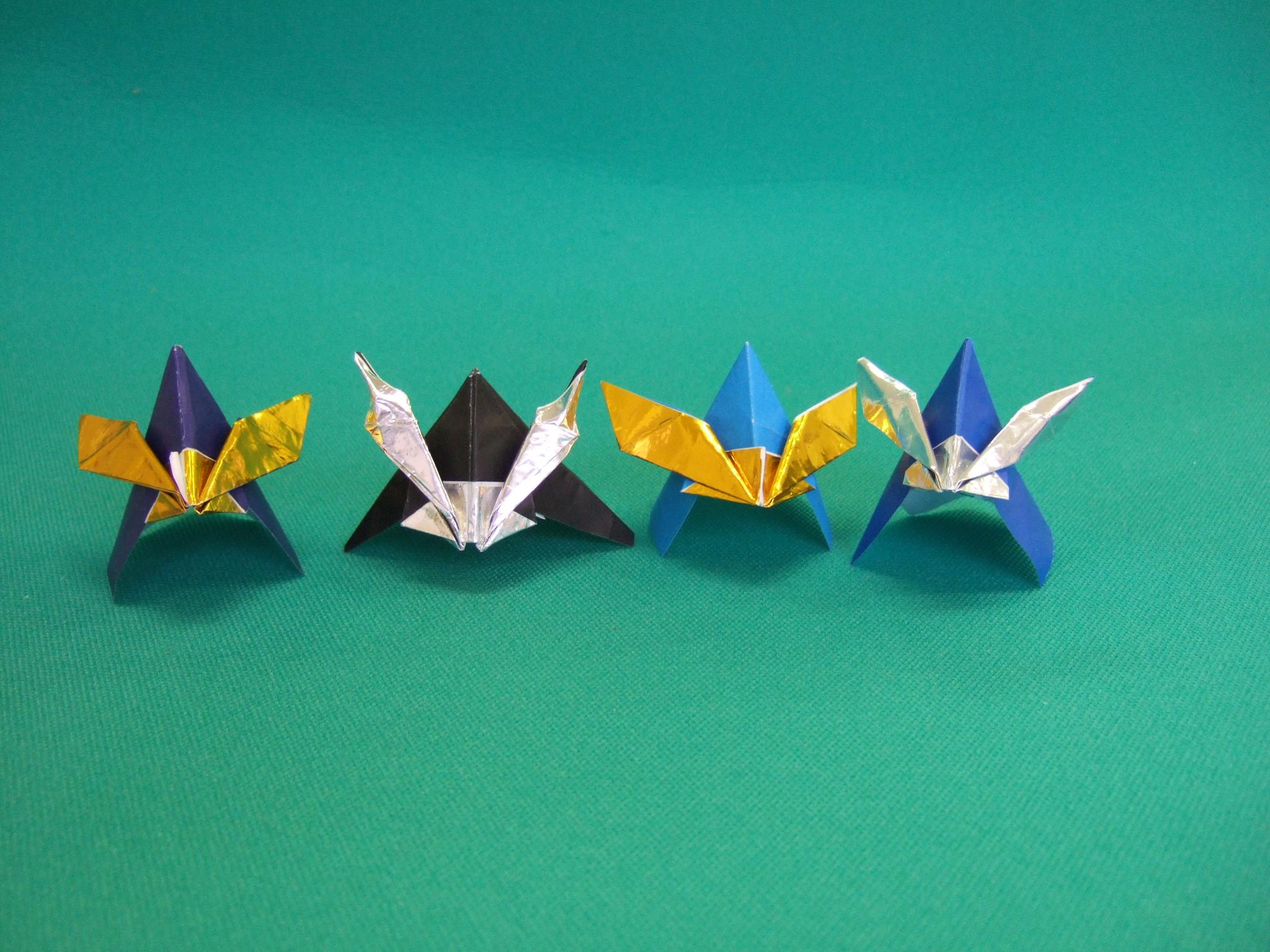 すべての折り紙 折り紙ドラえもんの折り方 : 難しい兜の折り方の画像 ...